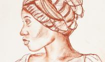 Benedict Chukwukadibia Enwonwu | Head study of girl (detalhe) | Nigéria